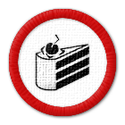 badge: The cake is a lie