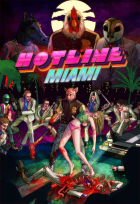 Hotline Miami box art for PC