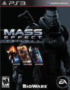 Mass Effect Trilogy box art for PlayStation 3