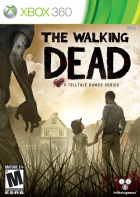 The Walking Dead: A TellTale Games Series box art for Xbox 360