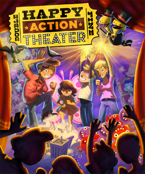Double Fine Happy Action Theatre cover