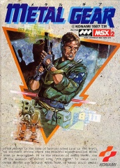 The original *Metal Gear* for MSX2
