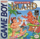 Adventure Island box art for Game Boy