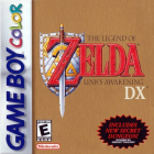 The Legend of Zelda: Link's Awakening DX box art for Game Boy Color