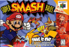 Super Smash Bros. box art for Nintendo 64