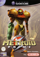 Metroid Prime box art for GameCube