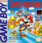 Super Mario Land box art for Game Boy