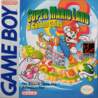Super Mario Land 2: 6 Golden Coins box art for Game Boy