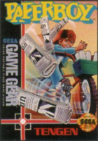Paperboy box art for Game Gear