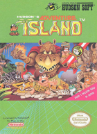 Adventure Island box art for NES