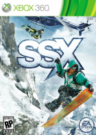 SSX box art for Xbox 360