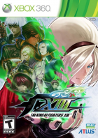 The King of Fighters XIII box art for Xbox 360