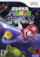 Super Mario Galaxy box art for Wii