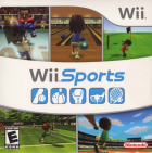 Wii Sports box art for Wii