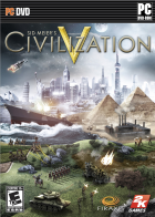 Civilization V box art for PC