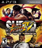Super Street Fighter IV box art for PlayStation 3