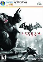 Batman: Arkham City box art for PC