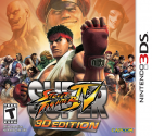 Super Street Fighter IV: 3D Edition box art for Nintendo 3DS