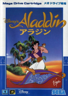 Aladdin box art for Sega Genesis