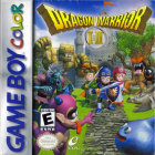 Dragon Warrior I & II box art for Game Boy Color