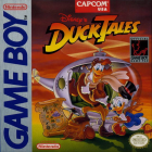 DuckTales box art for Game Boy