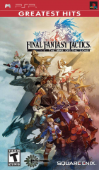 Final Fantasy Tactics: The War of the Lions (Greatest Hits) box art for PSP