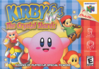 Kirby 64: The Crystal Shards box art for Nintendo 64