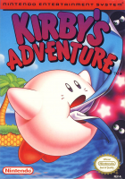 Kirby's Adventure box art for NES