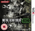 Metal Gear Solid: Snake Eater 3D box art for Nintendo 3DS
