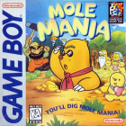 Mole Mania box art for Nintendo 3DS