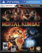 Mortal Kombat box art for PS Vita