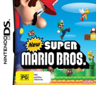 New Super Mario Bros. box art for Nintendo DS