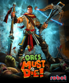 Orcs Must Die! box art for PC