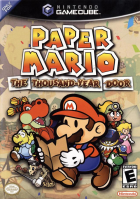 Paper Mario: The Thousand-Year Door box art for GameCube
