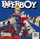 Paperboy box art for Apple II