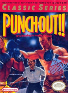 Punch-Out!! (Classic Series) box art for NES