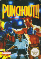 Punch-Out!! box art for NES
