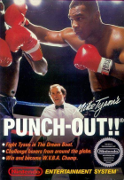 Mike Tyson's Punch-Out!! box art for NES