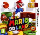 Super Mario 3D Land box art for Nintendo 3DS