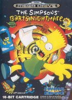 The Simpsons: Bart's Nightmare box art for Sega Genesis