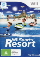 Wii Sports Resort box art for Wii
