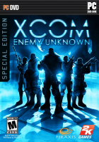 XCOM: Enemy Unknown box art for PC