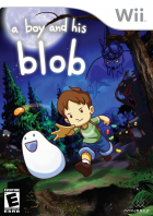 A Boy and His Blob box art for Wii