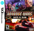 Advance Wars: Days of Ruin box art for Nintendo DS