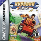 Advance Wars box art for Game Boy Advance