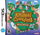 Animal Crossing: Wild World box art for Nintendo DS