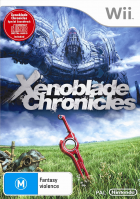 Xenoblade Chronicles box art for Wii
