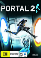 Portal 2 box art for PC