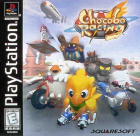 Chocobo Racing box art for PlayStation