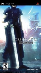Crisis Core - Final Fantasy VII box art for PSP